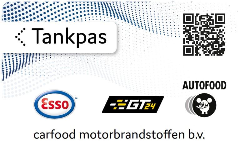 Carfood motorbrandstoffen Tankpas Homepagina